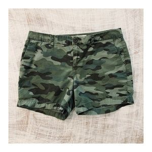 Everyday camo shorts for women